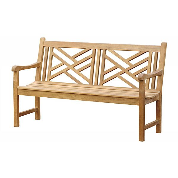 Terrific Indonesian Carved Teak Bench Totbb0022 Wholesale Outdoor Creativecarmelina Interior Chair Design Creativecarmelinacom